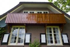 Balkon boerderij Twickel