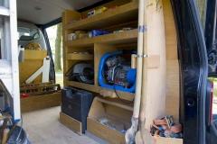 Interieur bedrijfswagen, maatwerk