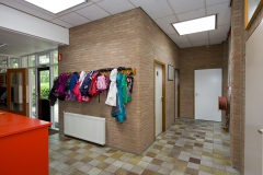 Entree school / buurtschapshuis (vroeger)