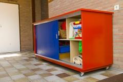 Speelgoedkast school, maatwerk