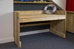 Bureau en steigerhout