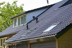 Nieuwe kap, incl. dakkappellen en Veluxramen
